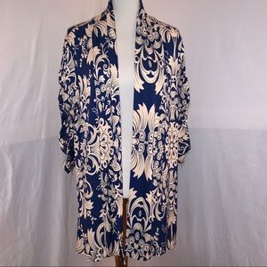 LILY BY FIRMIANA Knit Open Cardigan - 1XL